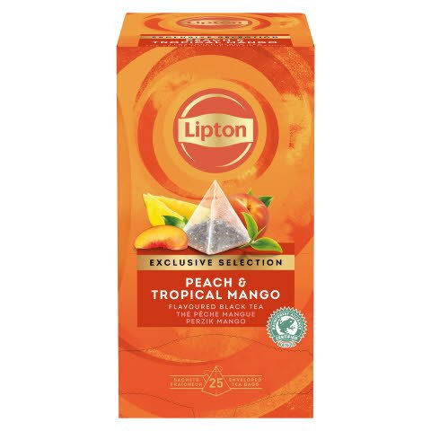 Lipton Pfirsich & Tropische Mango 25 Beutel