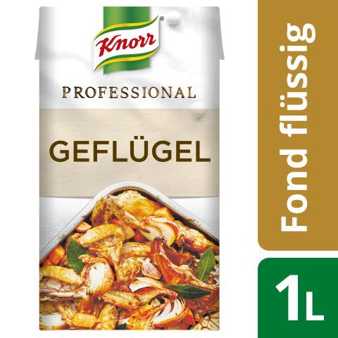 Knorr Professional Fond Geflügel (Chicken) 1 L -