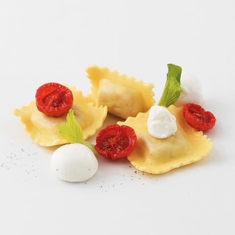 Caterline Ravioli Pomodoro e Mozzarella (Tomaten-Mozzarella-Füllung) 2 kg