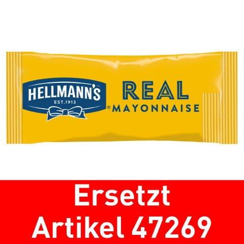 Hellmann's REAL MAYONNAISE  30 ml - Hellmann's REAL Mayonnaise - Hergestellt aus besten Zutaten.