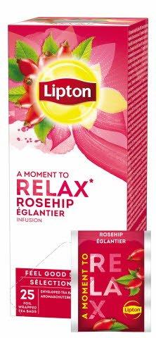 Lipton Hagebutte Früchtetee 25 Beutel