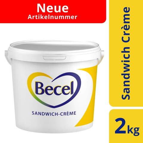 Becel Sandwich-Crème, Pflanzenmargarine 60% Fett 2 KG