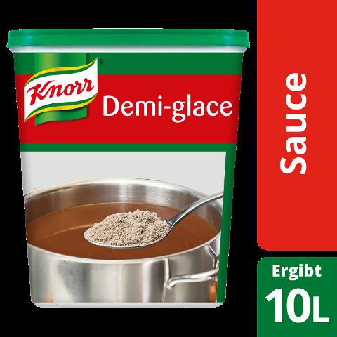 Knorr Sauce Demi-glace 1,2 KG - Wenige Handgriffe – authentischer und aus balancierter Geschmack.
