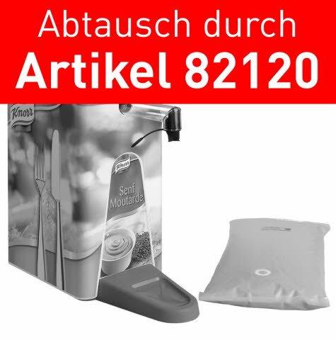 Knorr Senf scharf 2,5 KG