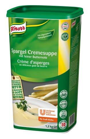 Knorr Spargel Cremesuppe mit feiner Butternote 1,2 KG