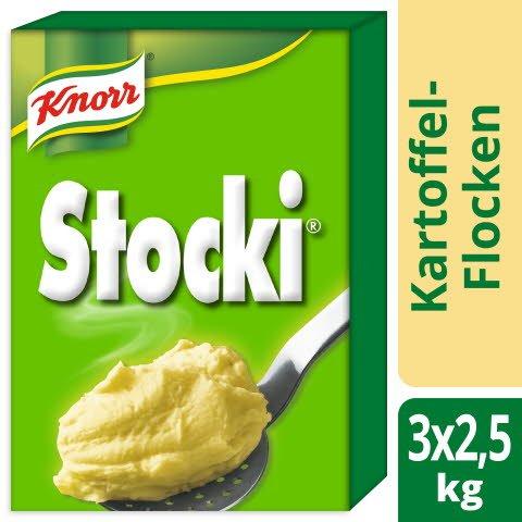 Knorr STOCKI Kartoffelstock Flocken 3 x 2,5 kg