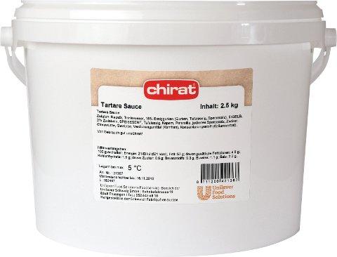 Chirat Tartare Sauce 2,5 KG Eimer