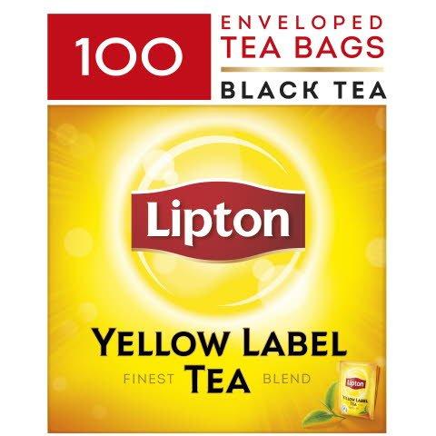 Lipton Yellow Label Schwarztee 100 Beutel