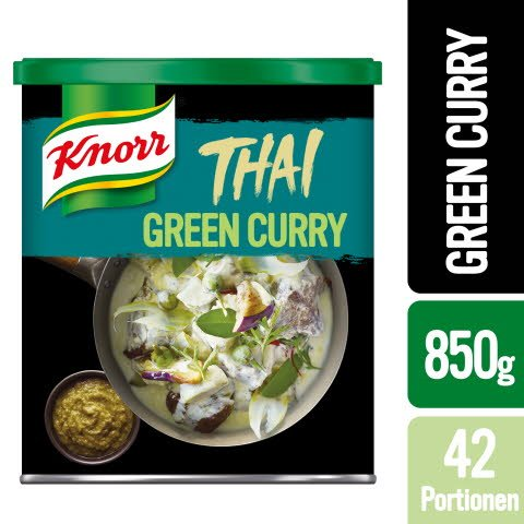 Knorr Thai Green Curry Paste 850g