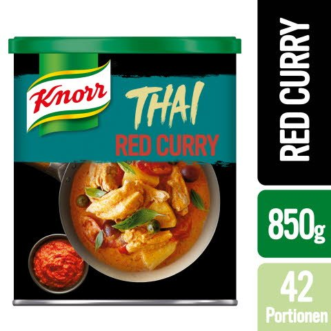 Knorr Thai Red Curry Paste 850g