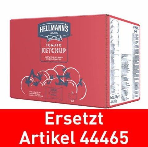 Hellmann's Tomato Ketchup - Beutel für Dispenser 3x2.5kg - ersetzt Knorr Tomatenketchup 3x2.5kg ((44465)