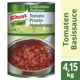 Knorr Tomato Pronto Napoletana Tomatensauce stückig Dose 4,15 KG