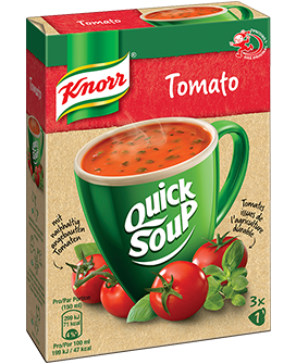 KNORR Quick Soup Tomato Suppe 3 x 1 Tasse