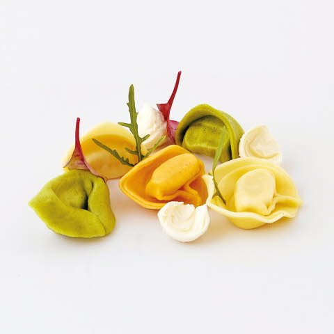 Caterline Tortelli ai formaggi tricolori (Käsefüllung) 2 kg