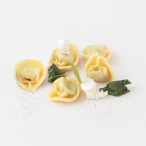 Caterline Tortelloni Ricotta e Spinaci (Ricotta-Spinat-Füllung) 1 kg