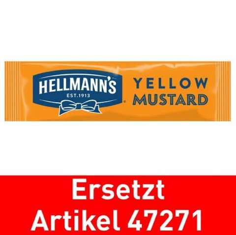 Hellmann's Yellow Mustard 198x10ml