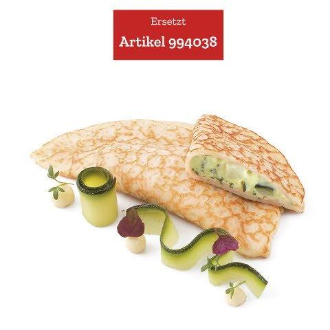 Caterline Zucchini-Kräuter Palatschini FREILANDEI 2,1 KG (30 Stk. à ca. 70 g) - ersetzt Caterline Zucchini-Kräuter-Palatschini 2 x 2,1 KG (994038)