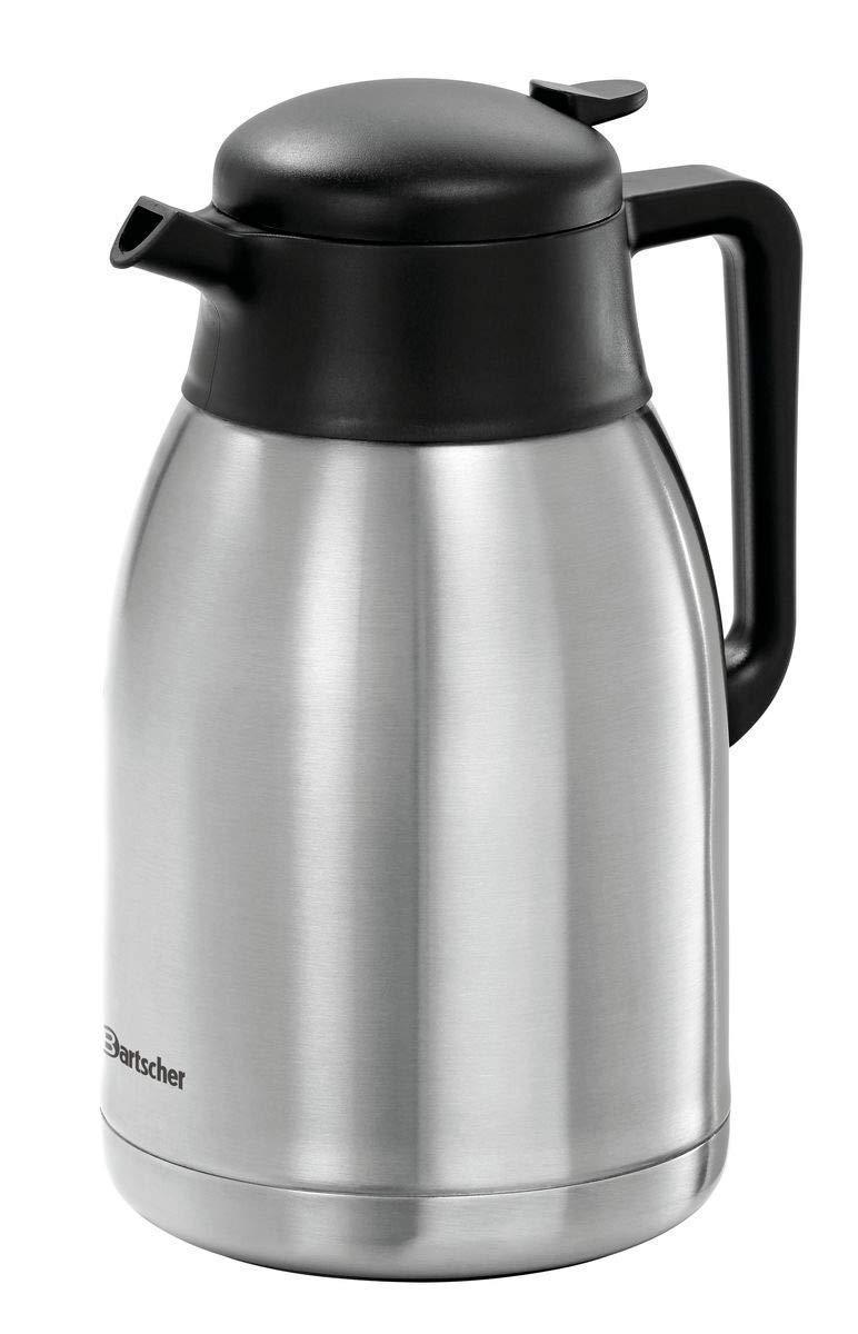 BARTSCHER Ersatzkanne zu Kaffemaschine Contessa 1002, Edelstahl, Ø 140 mm