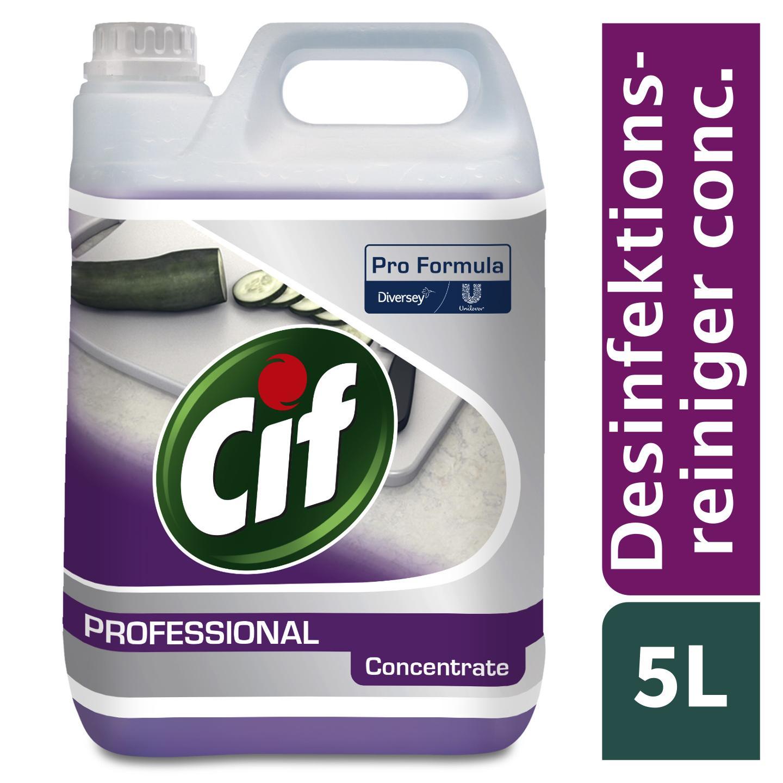 Cif Professional 2in1 Desinfektionsreiniger Konzentrat 5 L