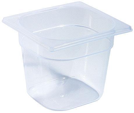 CONTACTO 1/6 GN-Frischhaltebox inkl. Deckel, Polypropylen, Tiefe: 150 mm