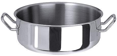 CONTACTO Bratentopf, Edelstahl 18/10, Inhalt 1,5 l, Durchmesser: 16,0 cm