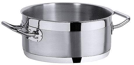 CONTACTO Bratentopf, Edelstahl 18/10, Inhalt 10,0 l, Durchmesser: 36,0 cm