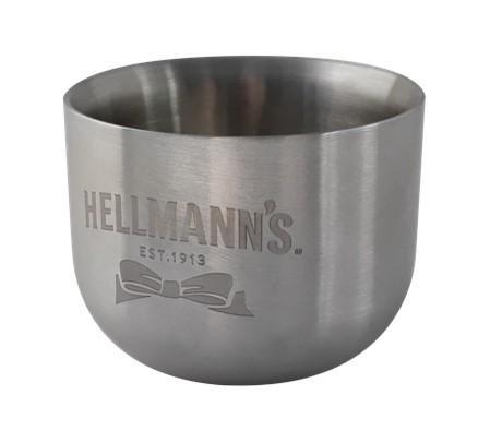 UFS Special 12er Set Hellmann's Stahl Schälchen 60ml -