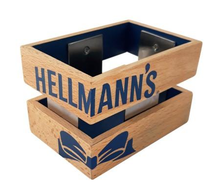 UFS Special 4er Set Hellmann's Portion Pack Holder -