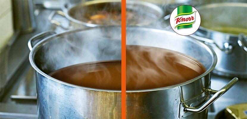 Knorr Delikatess Sauce zu Braten 1 KG - Verlängert die Sauce bei 100% Geschmack.