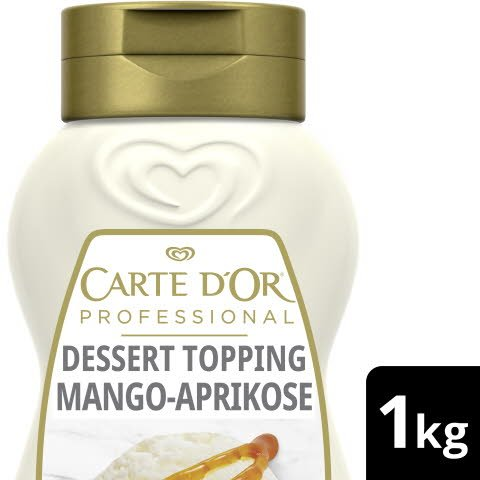 Carte D'or Topping Mango Apricot 1 KG -
