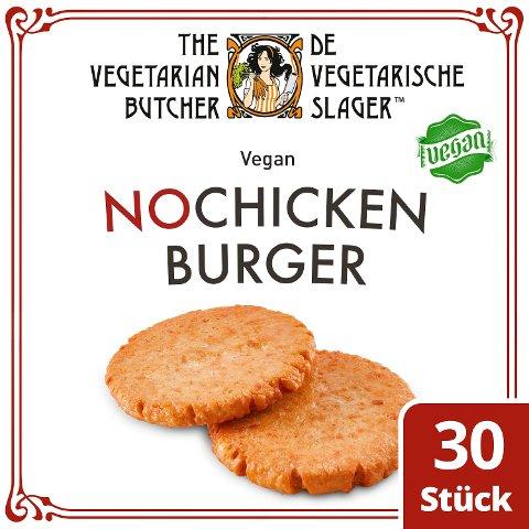 The Vegetarian Butcher - No Chicken Burger - Veganer Burgerpatty auf Pflanzenprotein-Basis 2,4 kg - The Vegetarian Butcher – die fleischlose Sensation für alle Lieblingsgerichte.