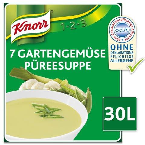 Knorr 7 Gartengemüse Püreesuppe 2,7 KG -
