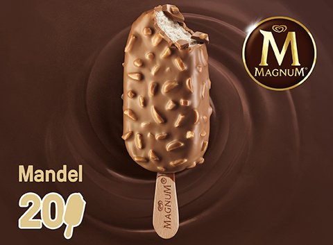 Magnum Mandel 120ml -