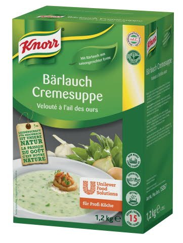 Knorr Bärlauch Cremesuppe 1,2 KG -