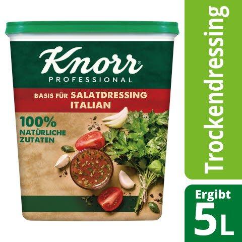 Knorr Basis für Salatdressing Italian 100% natürliche Zutaten 500 g