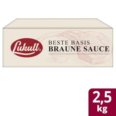 LUKULL Basis Braune Sauce 2x2,5 KG -