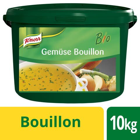 Knorr Bio Gemüse Bouillon 10 KG -