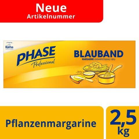 Phase Blauband Margarine 2,5 KG