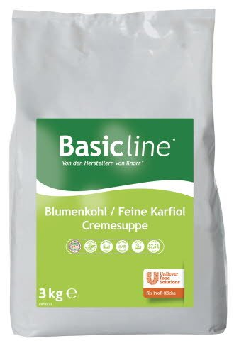 Basic Line Blumenkohl / Feine Karfiol Cremesuppe 3 KG