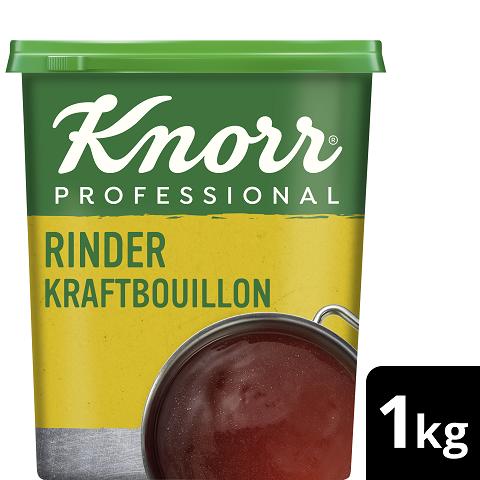 Knorr Professional Rinder Kraftbouillon ohne Suppengrün 1 KG -