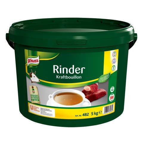 Knorr Professional Rinder Kraftbouillon ohne Suppengrün 5kg -