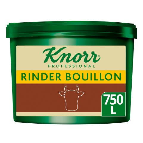 Knorr Professional Clean Label Rinder Bouillon 9,75 KG