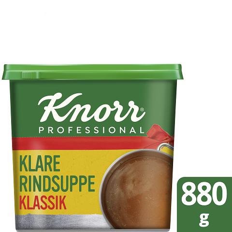 Knorr Professional Klare Rindsuppe mit Suppengrün KLASSIK 880 g red ribbon -