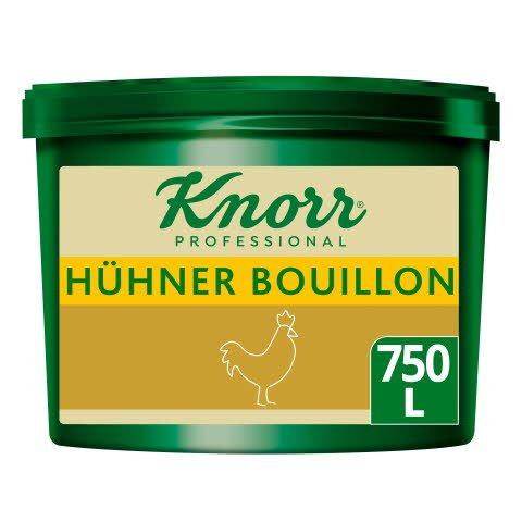 Knorr Professional Clean Label Hühner Bouillon 9,75KG