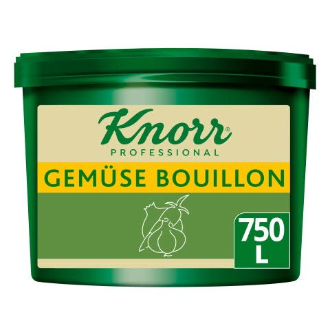 Knorr Professional Clean Label Gemüse Bouillon 9,75KG