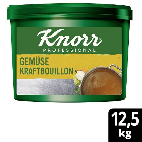 Knorr Professional Gemüse Kraftbouillon mit Suppengrün 12,5KG - Knorr Gemüse Kraftbouillon –vielseitig einsetzbar bei 100 % natürlichem Geschmack.