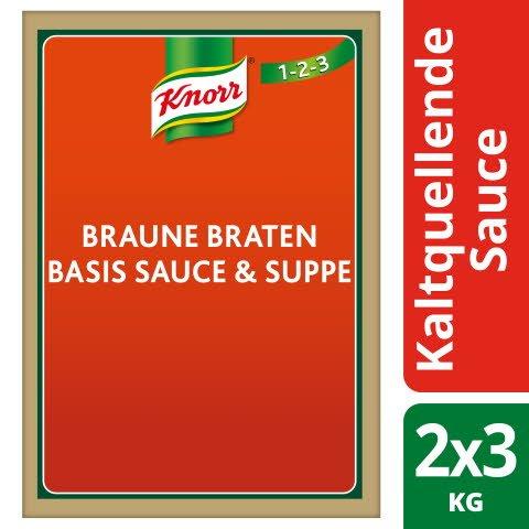 Knorr Braune Basis für Sauce und Suppe - kaltquellend 3 KG -