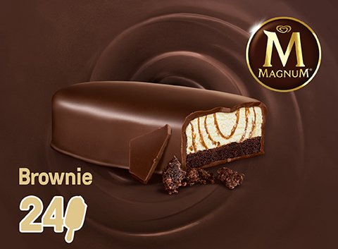 Magnum Brownie 75 ml -