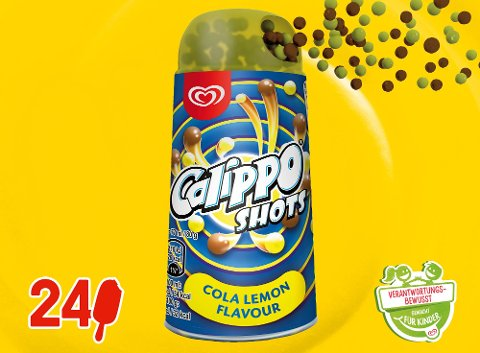 Kids Calippo Shots Cola Lemon 77 ml -