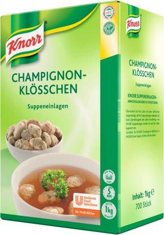 Knorr Einlagen Champinion Klösschen 6X1KG